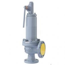 Клапан предохранительный СППК4р, 17нж15нж, 17нж85нж, пружинный, нерж. сталь, фланцевый, PN 63