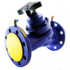 Клапан балансировочный Zetkama 447, ручной, чугунный, фланцевый, PN 16