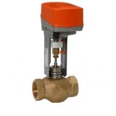 Клапан седельный, BELIMO, регулирующий, латунный, муфтовый, PN 16 бар, Швейцария