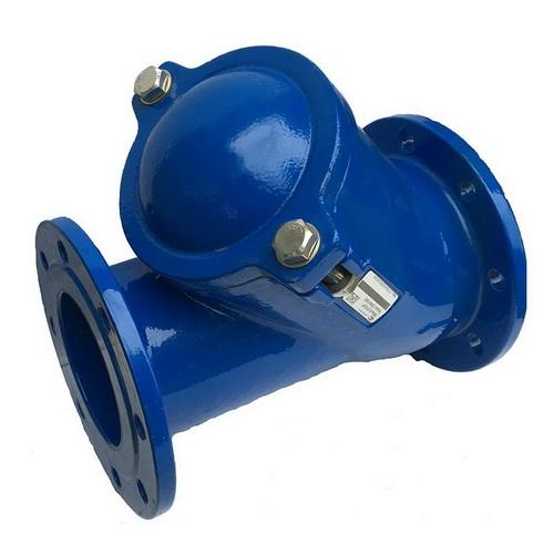 Клапан обратный чугунный шаровый фланцевый, PN 16