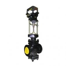 Клапан двухседельный, 25ч940нж, регулирующий, чугунный, фланцевый, PN 16