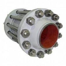 Клапан обратный 19с38нж стальной поворотный под приварку, PN 63