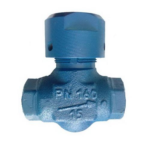 Клапан обратный 16с48нж стальной подъемный муфтовый, PN10-160
