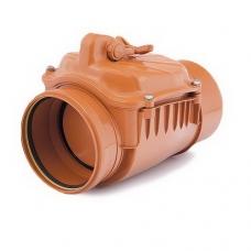 Клапан обратный ПВХ для наружной канализации