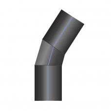 Отвод ПЭ сварной 31-45°