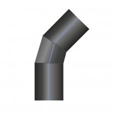 Отвод ПЭ сварной 46-60°